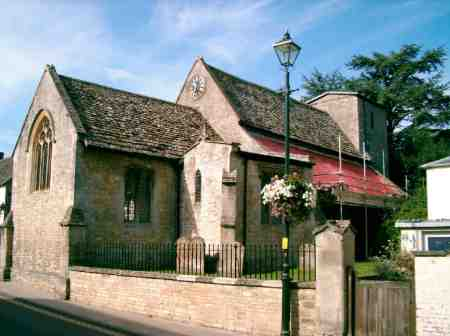 Restoration work taking place at St Mary's Church, Cricklade